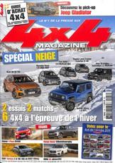 4x4 magazine N° 427 Janvier 2019