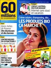60 Millions de consommateurs N° 550 Juin 2019