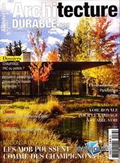 Architecture durable N° 38 Août 2019