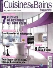 Cuisine et bains magazine N° 154 Novembre 2014