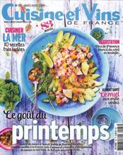Cuisine et Vins de France N° 187 Mars 2019