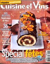Cuisine et Vins de France N° 191 Novembre 2019