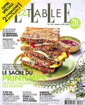 Elle à table N° 123 Mars 2019
