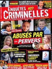 Enquêtes criminelles N° 27 Décembre 2018
