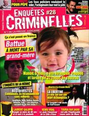 Enquêtes criminelles N° 28 Mars 2019