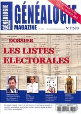 Généalogie magazine N° 372 Décembre 2018