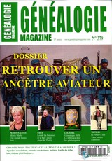Généalogie magazine N° 379 Octobre 2019