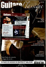 Guitare Classique N° 87 Mai 2019