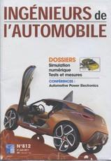 Ingénieurs de l'Automobile N° 827 Décembre 2013