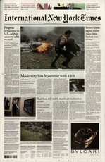 International New York Times N° 328 Mars 2020