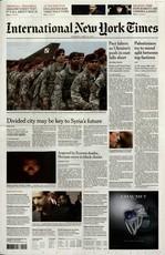 International New York Times N° 122 Janvier 2020