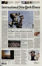 International New York Times N° 120 Janvier 2020