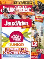 Jeux vidéo magazine junior N° 14 Octobre 2018