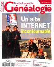 La Revue Française de Généalogie N° 241 Mars 2019