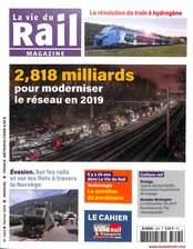 La Vie du Rail Magazine N° 3353 Janvier 2019