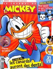 Le Journal de Mickey N° 3473 Janvier 2019
