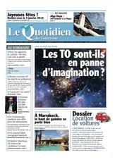 Le quotidien du tourisme N° 3661 Décembre 2012