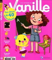 Les P'tites filles à la vanille N° 144 Août 2019