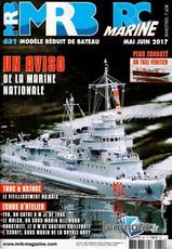 Modèle Réduit de Bateau N° 631 Mai 2017