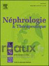Néphrologie et thérapeutique