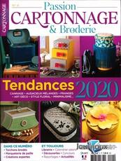Passion Cartonnage & Broderie  N° 4 Janvier 2020
