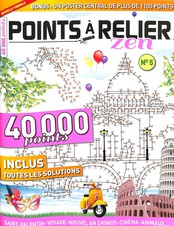 Points à relier Magic N° 11 Janvier 2019