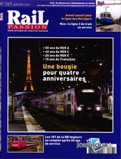 Rail Passion N° 267 Décembre 2019