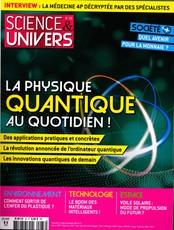 Science et univers N° 33 Août 2019