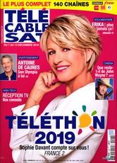 Télé Cable Sat Hebdo N° 1544 Décembre 2019