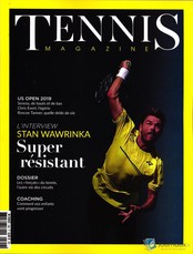 Tennis magazine N° 509 Août 2019