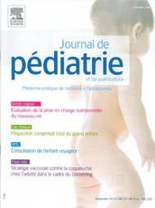 Journal de pédiatrie et de puériculture Février 2012