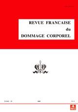 La revue française du dommage corporel