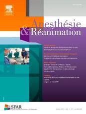 Anesthésie et réanimation