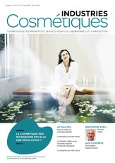 Industries cosmétiques N° 6 Juillet 2015