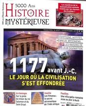 5000 ans d'Histoire mystérieuse N° 35 Août 2017