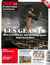 5000 ans d'Histoire mystérieuse N° 37 February 2018