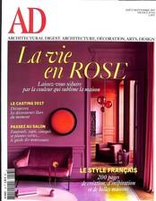 AD - Architectural digest N° 143 Août 2017