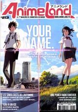AnimeLand N° 213 Novembre 2016