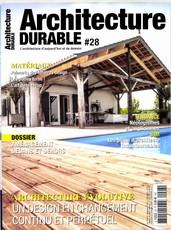 Architecture durable N° 28 Février 2017