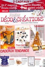 Atelier déco et créations N° 40 Novembre 2017