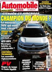 Automobile Revue N° 62 July 2018