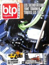 BTP Magazine N° 305 Septembre 2017