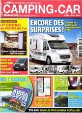 Camping-car magazine N° 309 June 2018