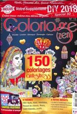 Coloriage zen N° 15 Décembre 2017