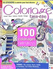 Coloriage bien-être N° 17 June 2018