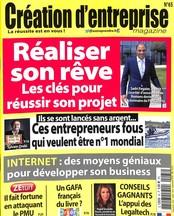 Création d'entreprise magazine N° 65 June 2018