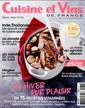Cuisine et Vins de France Poche N° 174 Janvier 2017