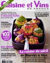Cuisine et Vins de France N° 181 March 2018