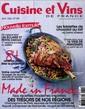 Cuisine et Vins de France N° 169 Mars 2016