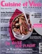 Cuisine et Vins de France N° 174 Janvier 2017